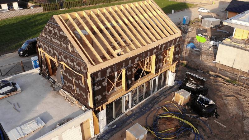 Dom pasywny w konstrukcji szkieletowej
